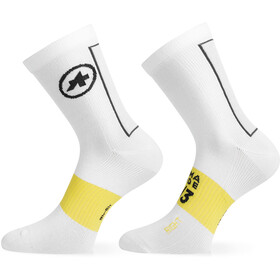 assos Spring Fall Leg Socks holy white